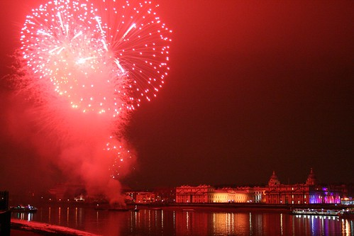 Royal Greenwich fireworks