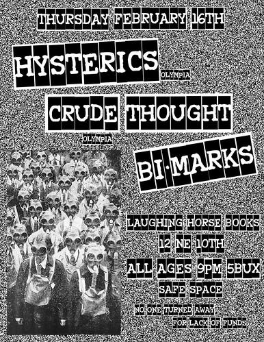 2/26/12 Hysterics/CrudeThought/BiMarks
