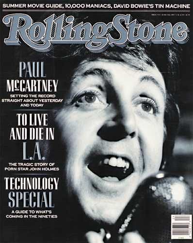 Beatles Paul McCartney Rolling Stone Magazine by Biilboard Hot 100