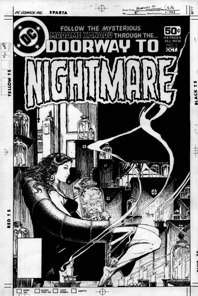 Doorway To Nightmare 5 original art by Michael Kaluta