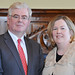 An Tánaiste Eamon Gilmore and Cllr Carrie Smyth