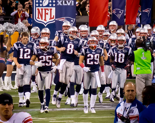 New England Patriots grand entrance | by SAB0TEUR