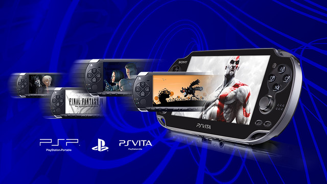 PSP Gaming on PS Vita