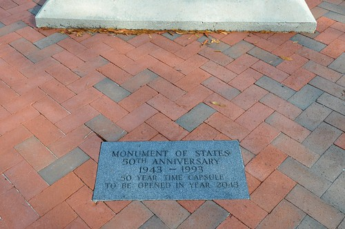 Monument of States Time Capsule