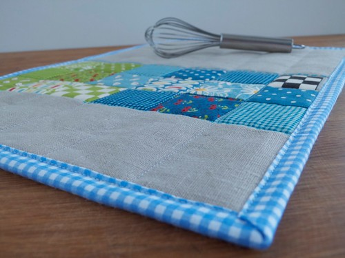 Placemat - Blue and Green