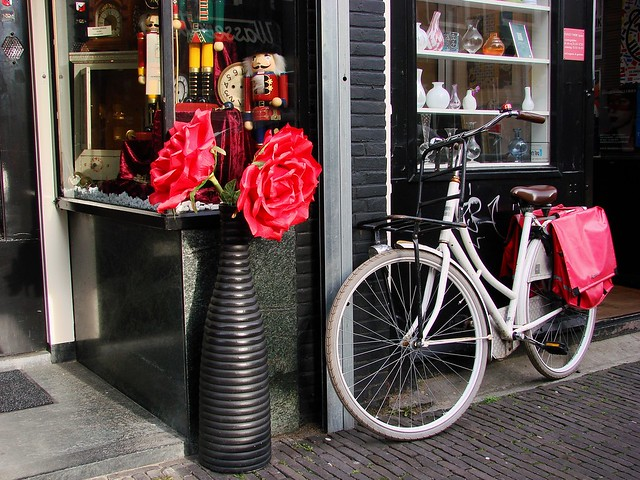 Flowers and Fiets