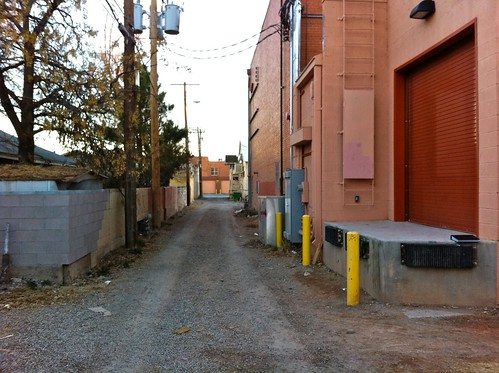 That Reminds Me Of A Humorous Alley Related Photo I Took. Hereu0027s A Nice  Loading Dock, Conveniently Built For A Truck To Back Up To It: