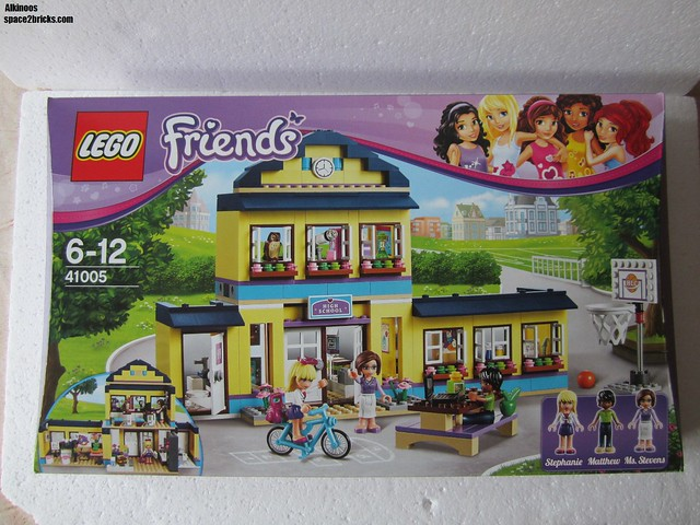 Lego friends 41005 l 39 cole d 39 heartlake city lego r by - Lego friends l ecole ...