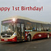 Happy 1st Birthday to service 1 Hybrids! by SRB Photography Edinburgh