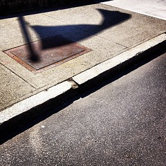 #shadow of a #flag #streetphotography #vagabond
