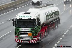 Scania G440 6x2 Tractor with Fuel Tanker - PO62 XPF - Elaine Carol - Eddie Stobart - M1 J10 Luton - Steven Gray - IMG_6928