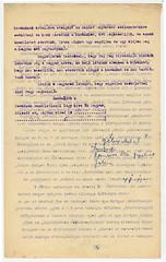 II/11. Az olasz fogságból érkező magyar hadifoglyok kellő fogadtatása, 4. fol., Köszöntő beszéd, antiszemita felhangokkal