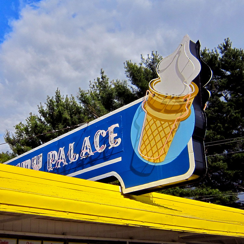 Dairy Palace New Castle Delaware Retro Roadmap
