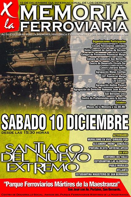POR LA MEMORIA FERROVIARIA / Sábado 10 Diciembre 2011