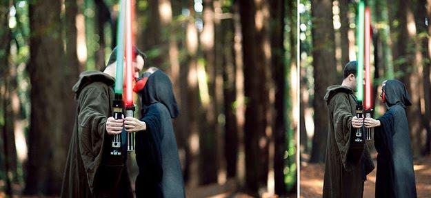 O Melhor Álbum de Casamento Já Feito - Star Wars