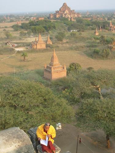 Bagan- Coucher de soleil (4)