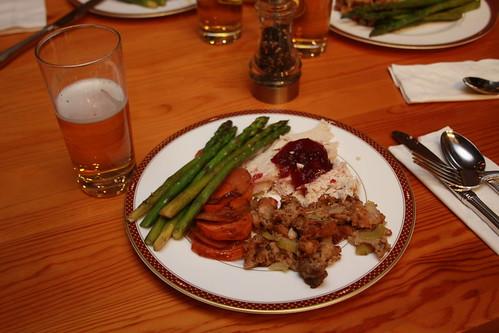 turkey dinner 2011