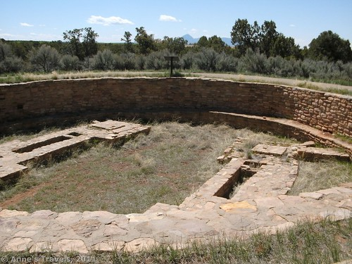 The Great Kiva at Lowry Pueblo, Canyons of the Ancients National Monument, Colorado