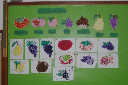 ideias para o outono jardim de infancia : ideias para o outono jardim de infancia:Os Frutos do Outono – Jardim de Infância de Torneiros