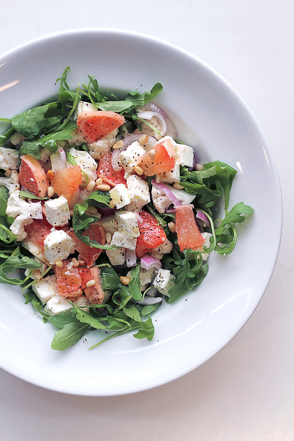 Grapefruit, Feta and Cauliflower