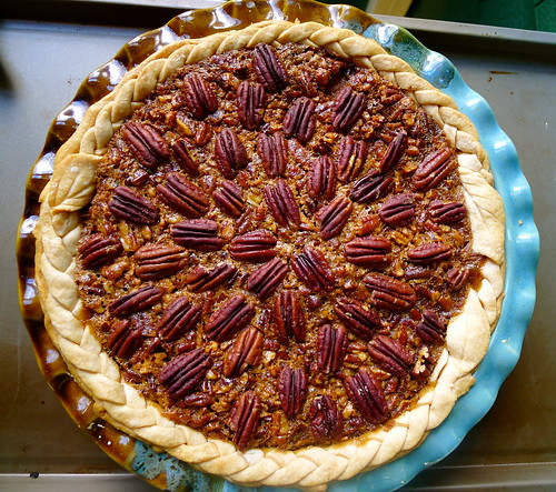 Deep Dish Pumpkin Pecan Pie