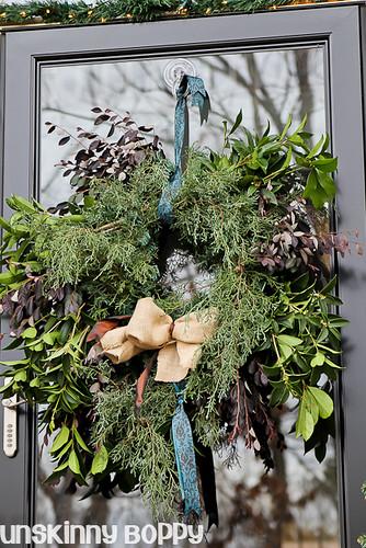 DIY Evergreen Christmas wreaths (14 of 16)