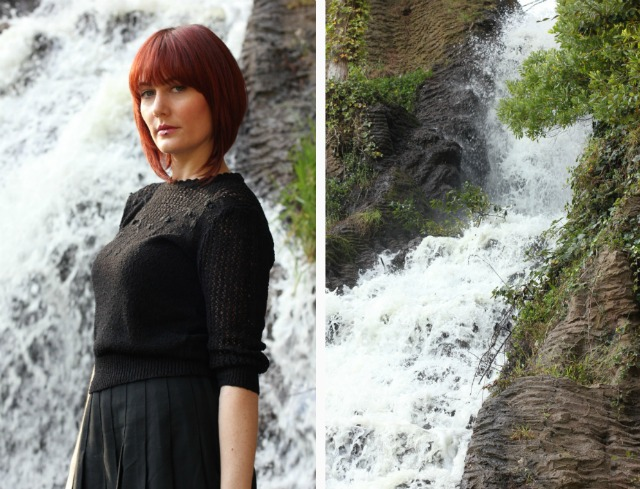 waterfall collage