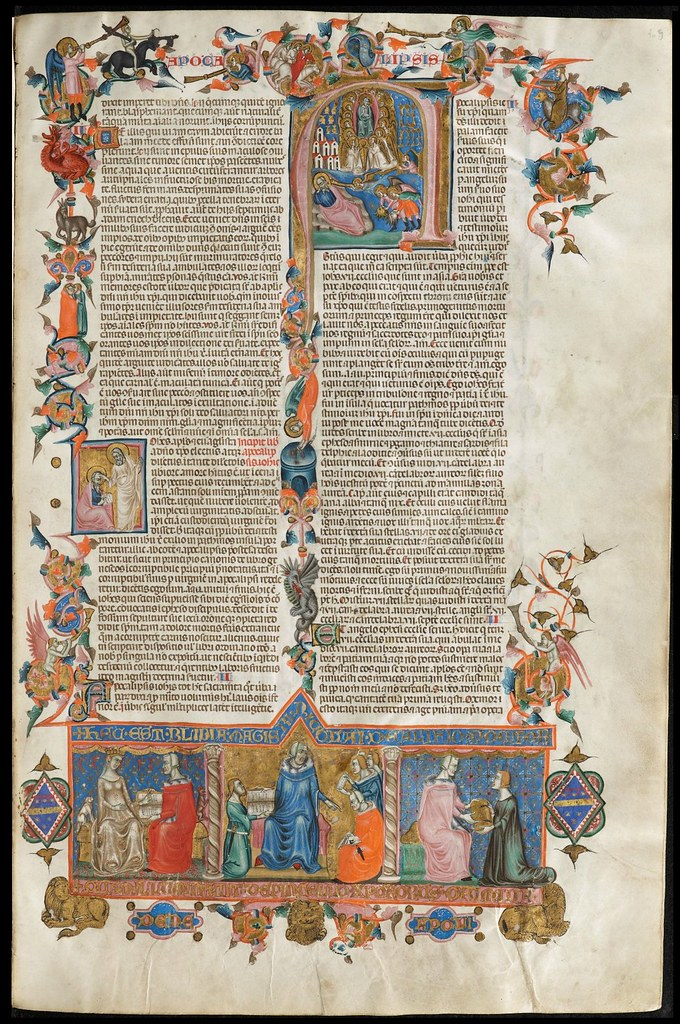 Anjou Bible folio 309r