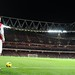 van Persie at Emirates by Stuart MacFarlane