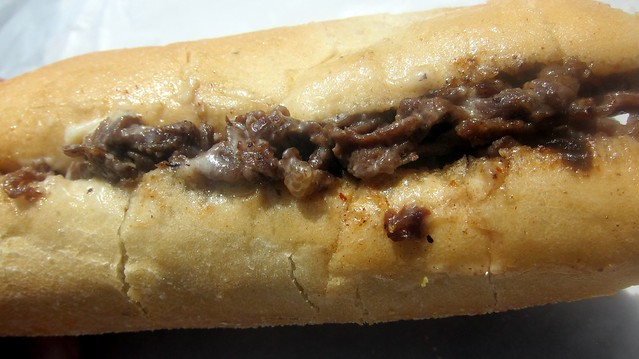 a cheesesteak wit from south philly