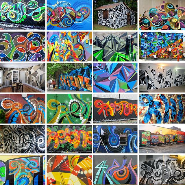 Slideshow : 2011 Murals.