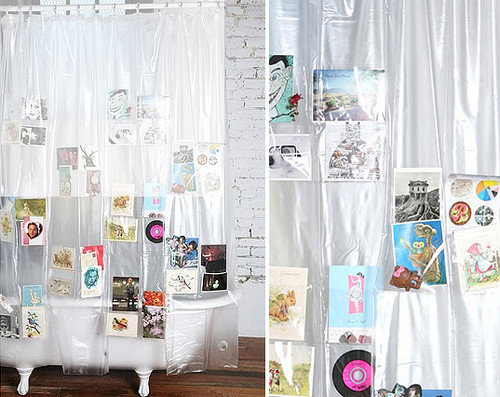 How Fun Is This Pocket Shower Curtain? I Know Our Resident Artist (the Baby  Space Preschooler) Would Love To Fill These Pockets Up With His  Illustrations Of ...