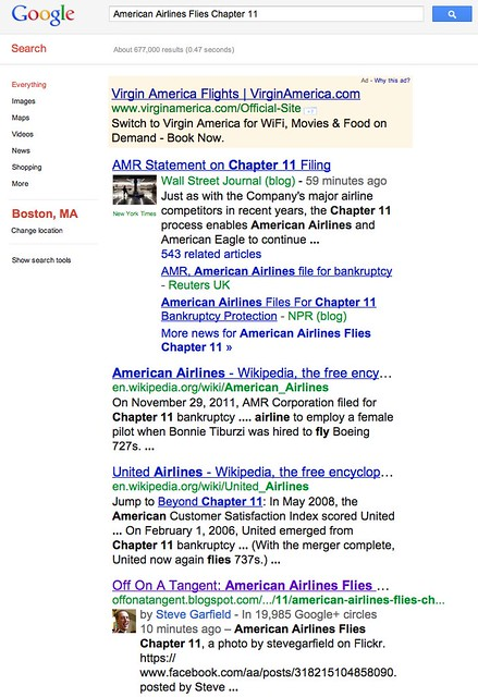 american airlines flies chapter 11 - Google Search
