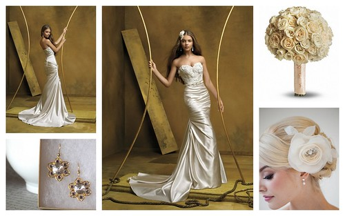 {Ivory & Gold} Bridal Style by Nina Renee Designs