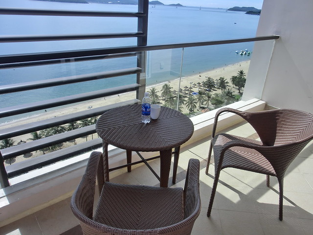 View from the deluxe room of the 16th floor - Hotel Novotel Nha Trang