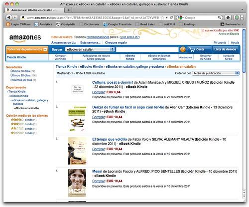 Amazon.es: eBooks en catalán - eBooks en catalán, gallego y euskera: Tienda Kindle