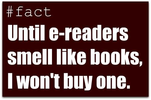 books versus e readers