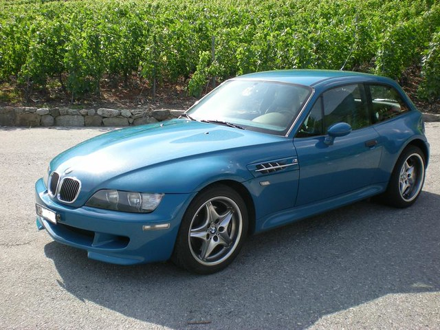 2001 BMW M Coupe | Laguna Seca Blue | Laguna Seca Blue/Black