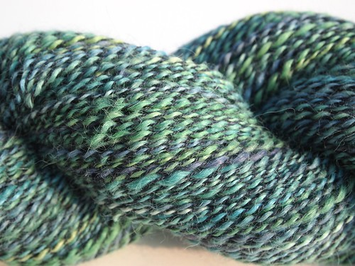 Alpaca plied with merino lace weight yarn - 368yds-3