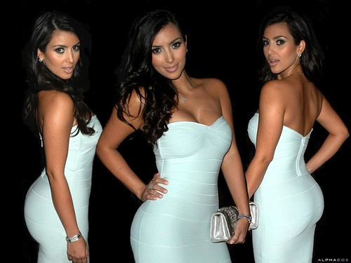 mujeres-cañon-Kim-Kardashian