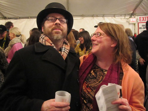 Vince and Kate Vincent at Holiday Ale Fest