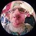Sigma 4.5 Circular Fisheye Self Portrait by baldheretic
