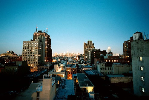 Tribeca Rooftops Looking North, Manhattan (Bessa-L)