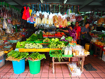 Another vegetable stall at Central market. Taken with Olympus PEN E-P3 with 12mm lens and Pop Art effect.