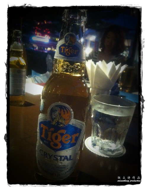 Limited Edition Tiger Crystal Beer