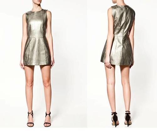 Zara-Otoño-Invierno-vestido-metalizado