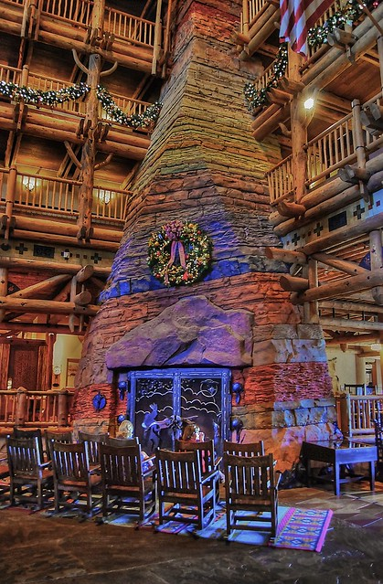 Christmas Time at the Wilderness Lodge