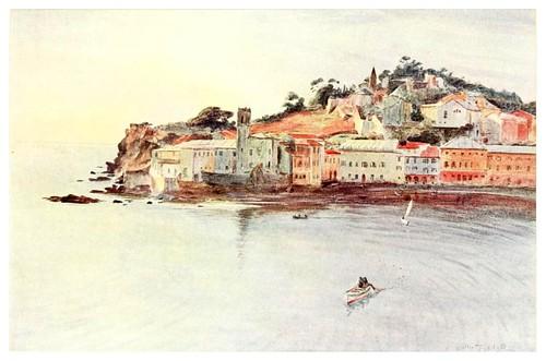 007-La Peninsula en Sestri Levante-An artist in the Riviera (1915)-Walter Tyndale