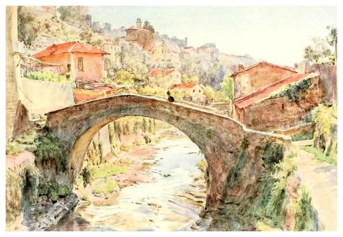 014- La Rocca en San Remo-An artist in the Riviera (1915)-Walter Tyndale