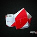 Faixa - Vermelha Branca Metalizada